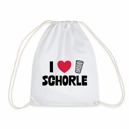 I love Schorle & Dubbe Schobbe - Turnbeutel