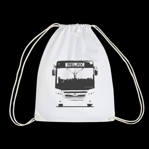 Relax bus - Drawstring Bag