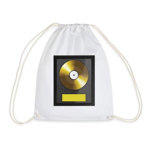 Goldene Schallplatte - Turnbeutel