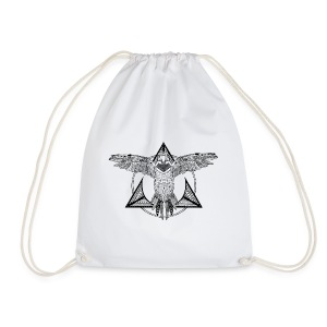 frame-parrot - Drawstring Bag