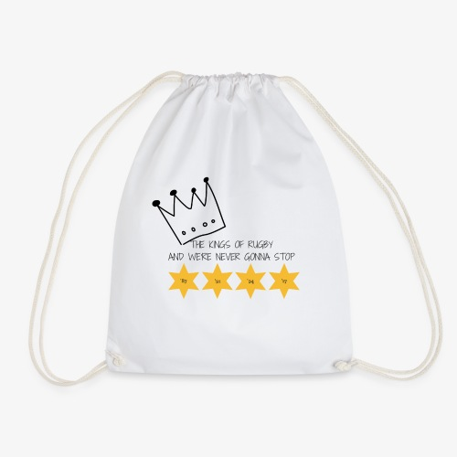 The Kings of Rugby - Drawstring Bag
