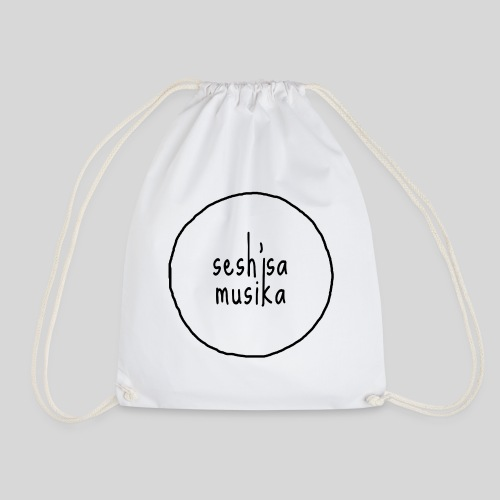 Sesh'sa Musika Official Label logo - Drawstring Bag