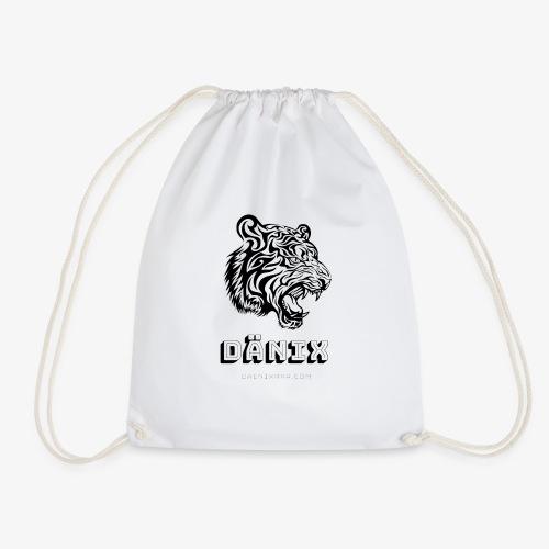 Tiger Black - Drawstring Bag