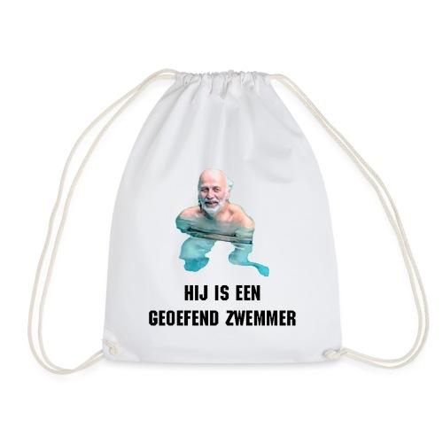 Geoefend Zwemmer - Gymtas