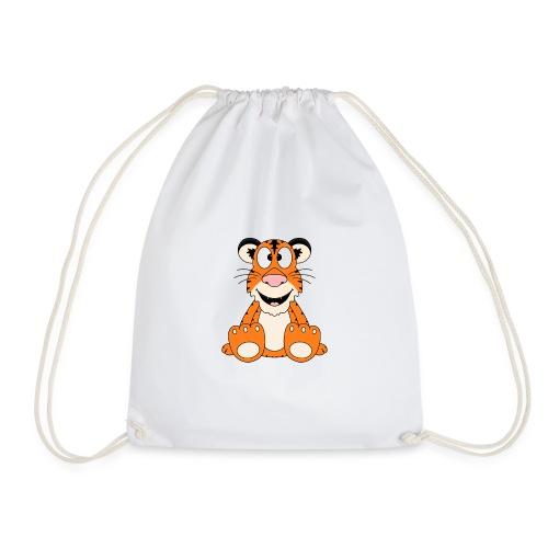 Lustiger Tiger - Kinder - Baby - Tier - Fun - Turnbeutel