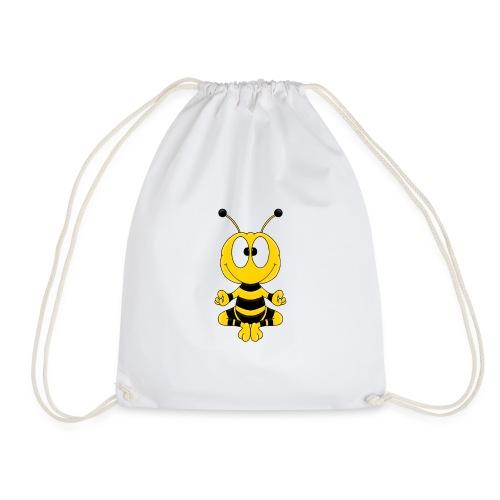 Lustige Biene - Yoga - Relax - Chill - Tier - Fun - Turnbeutel