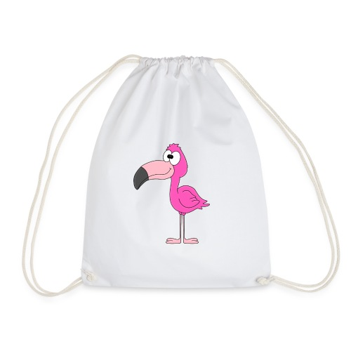 Lustiger Flamingo - Kind - Baby - Tier - Fun - Turnbeutel