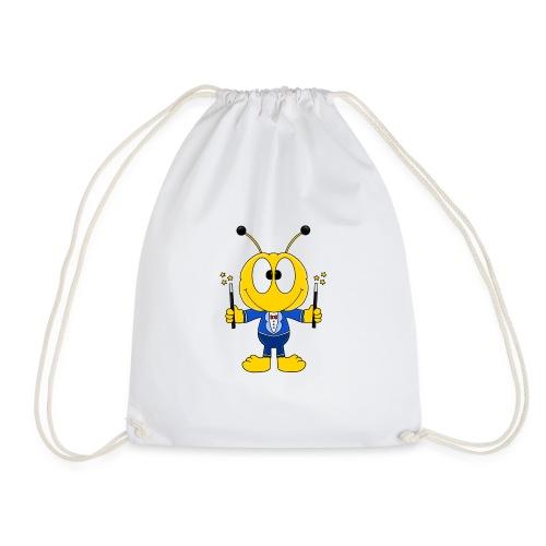 Lustige Biene - Bee - Zauberer - Magier - Fun - Turnbeutel