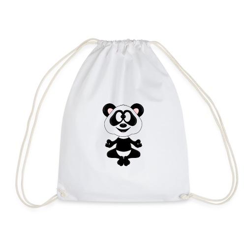 Panda - Bär - Yoga - Chillen - Relaxen - Tierisch - Turnbeutel