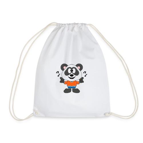 Panda - Bär - Musik - Kind - Tier - Baby - Turnbeutel