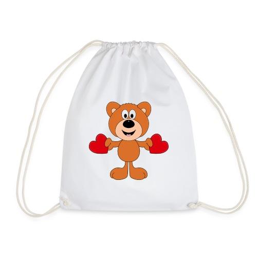 TEDDY - BÄR - LIEBE - LOVE - KIND - BABY - Turnbeutel