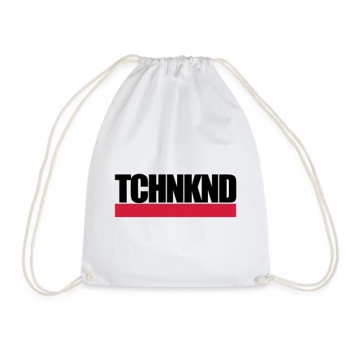 TCHNKND Technokind MNML Schriftzug - Turnbeutel