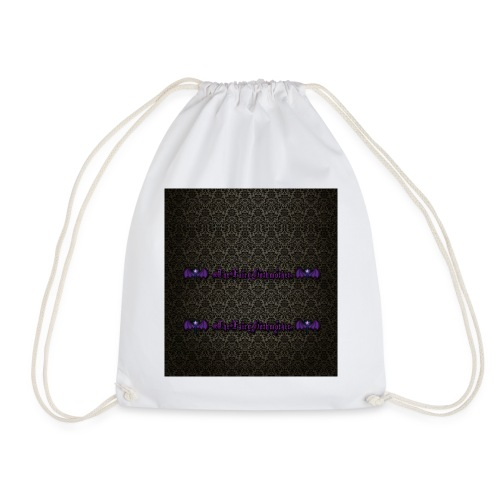 Gothmother grufti button - Drawstring Bag
