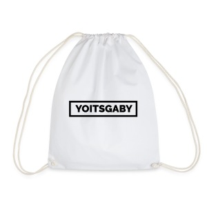 YoItsGaby T-shirt Zwart // Man - Gymtas