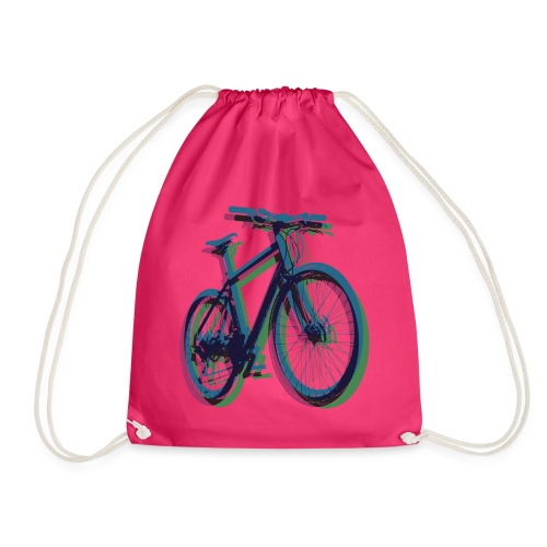 Bike Fahrrad bicycle Outdoor Fun Mountainbike - Drawstring Bag