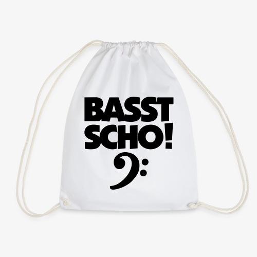BASST SCHO! Bass Design für Bassisten - Turnbeutel