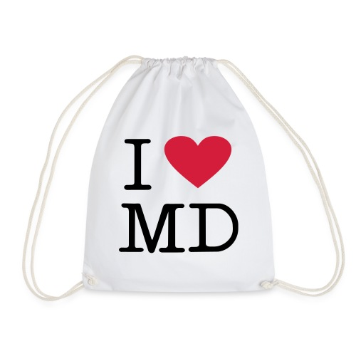 I Love MD - Turnbeutel