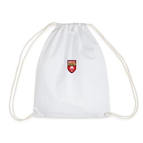 ManvFat FC Badge png - Drawstring Bag