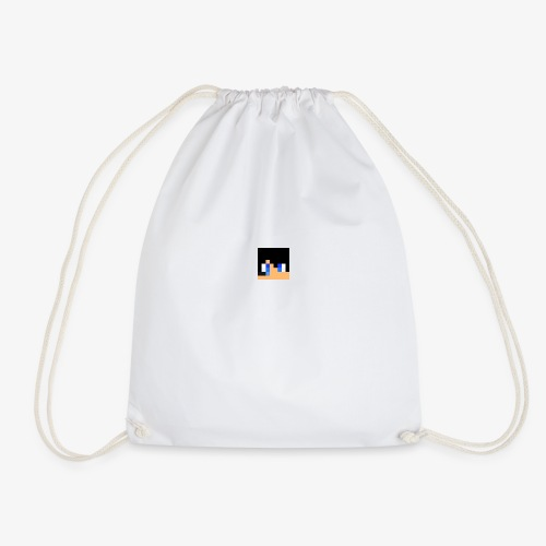 JK Gaming's Minecraft Head - Drawstring Bag