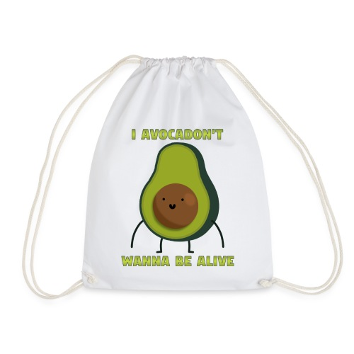 I avocadon't wanna be alive - Sportstaske