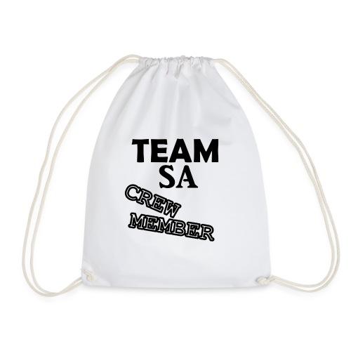 Team SA Crew Member Logo - Gymnastikpåse