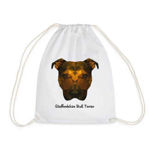 Staffordshire Bull Terrier - Drawstring Bag