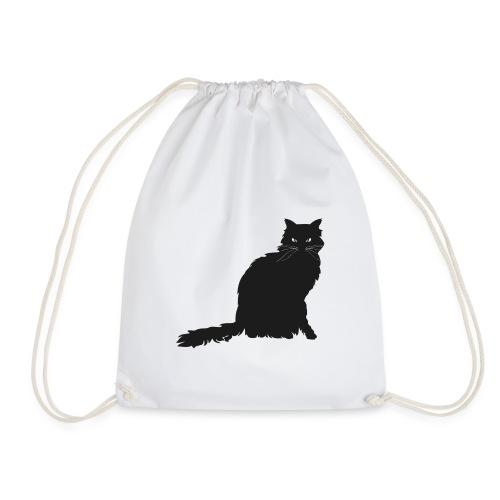 black cat - Turnbeutel
