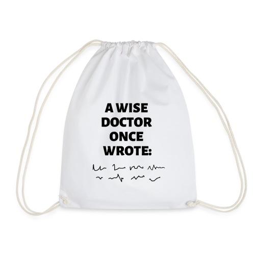 Morsomt motiv til doktor - Gymbag