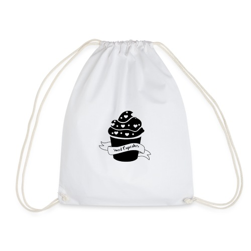 Cupcakes - Muffin - Herz - Sweet Cupcake - Turnbeutel