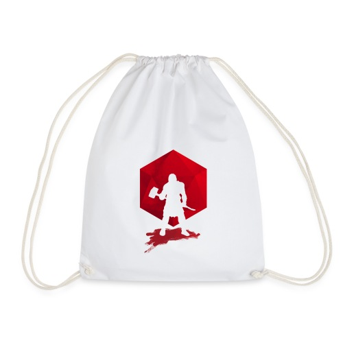 Brutal Barbarian - Dungeons and Dragons dnd d20 - Drawstring Bag