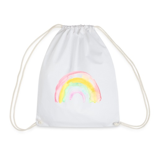 Pastell Rainbow - Turnbeutel