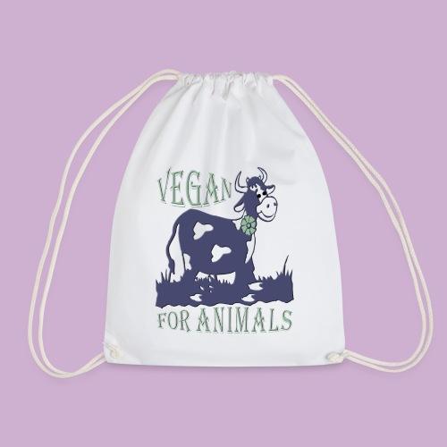 VEGAN FOR ANIMALS - Turnbeutel