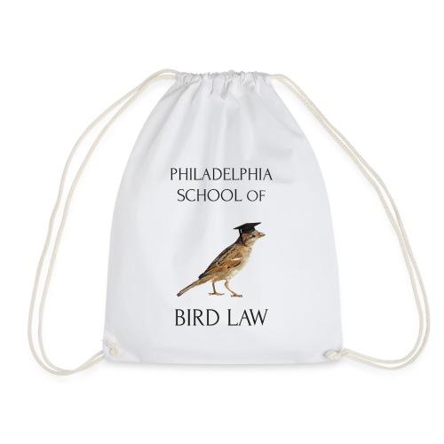 Philadelphia School of Bird Law - Drawstring Bag