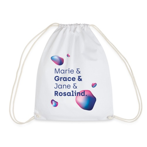 Lange Nacht 2018 Marie Grace Jane Rosalind - Turnbeutel