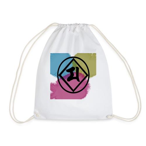 Logo Japones color - Mochila saco