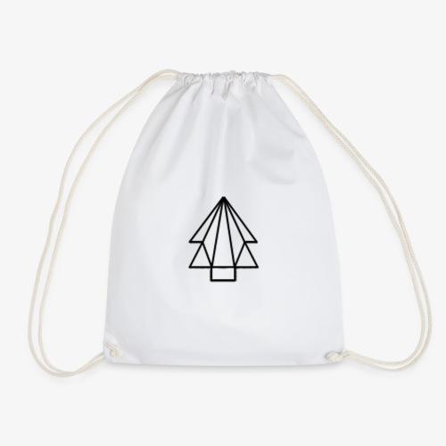 Tree-Logo with Strings - Drawstring Bag