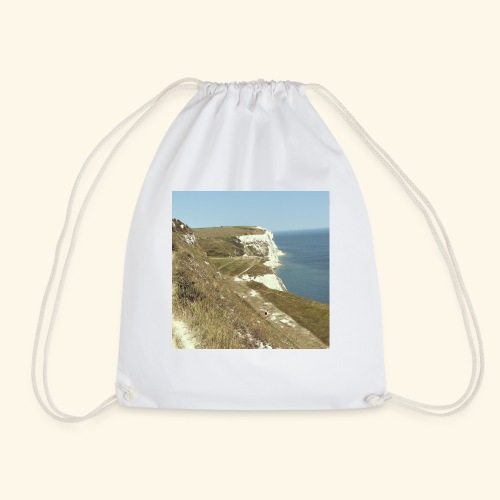 The White Cliffs Of Dover - Drawstring Bag
