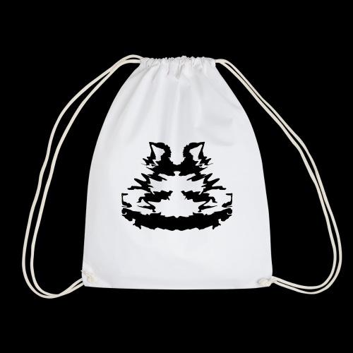 Rorschach Katze - Turnbeutel