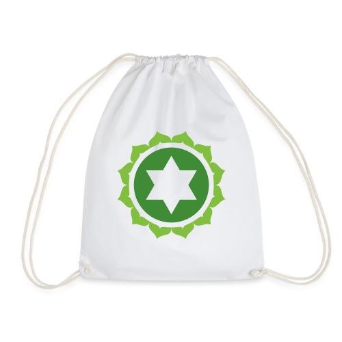 The Heart Chakra, Energy Center Of The Body - Drawstring Bag