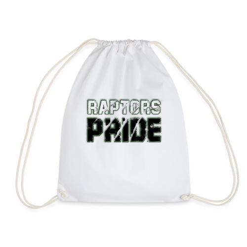 Raptors Pride - weiß/schwarz - Turnbeutel