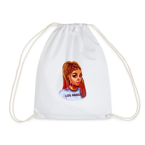 Braided black girl - Sac de sport léger
