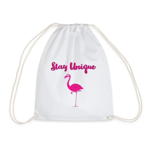 Stay Unique Flamingo - Turnbeutel
