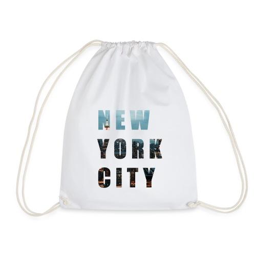 NEW YORK, New York photo, New York City - Drawstring Bag
