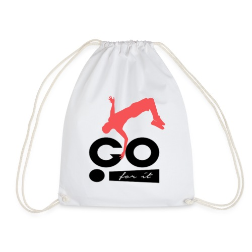 Design sportif et motivant GO FOR IT - Sac de sport léger