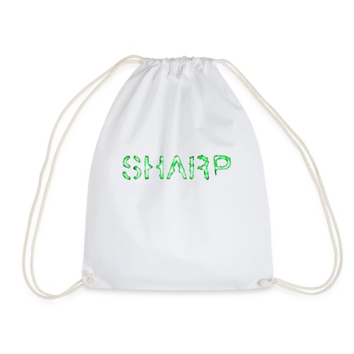 Sharp Clan grey hoodie - Drawstring Bag