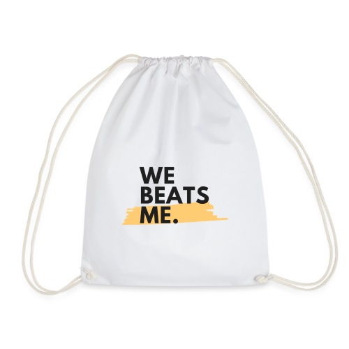 Social Fashion - 'We Beats Me' - Drawstring Bag
