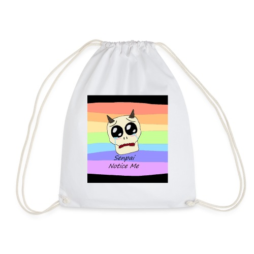 Senpai i-phone 6s case - Drawstring Bag