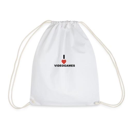 I Love Videogames - Drawstring Bag