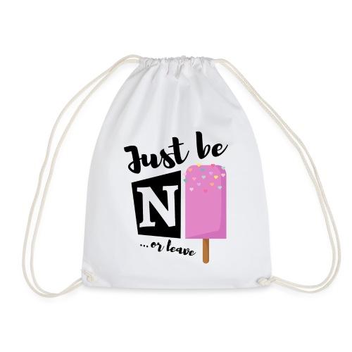 Spruch Eis ice cream - Turnbeutel