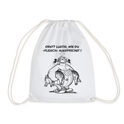 Asterix Obelix Obst Fleisch lineart - Sac de sport léger